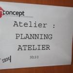 Séminaire IN Concept - Planning atelier
